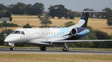 2011 Embraer Legacy 650 Ext 3 VP-CFA