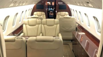 2011 Embraer Legacy 650 Int 1 VP-CFA