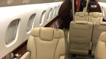 2011 Embraer Legacy 650 Int 2 VP-CFA