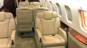 2011 Embraer Legacy 650 Int 5 VP-CFA
