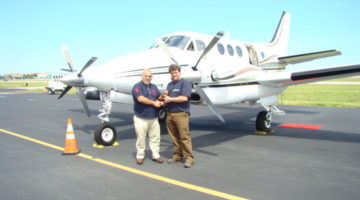 2001 Beechcraft King Air C90B