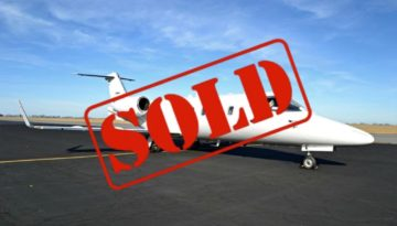 1984 Bombardier Learjet 55 Ext 2 N855NC sold