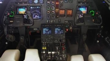 1998 Beechcraft Beechjet 400A Panel RK-204