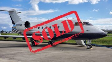 1987 Challenger 601 Ext 2 N999MK Sold by JLM Aviation