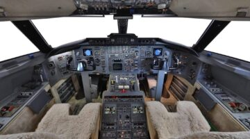 1987 Challenger 601 Panel N411JE