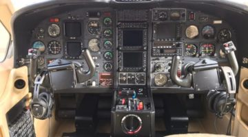 2002 Socata TBM 700B Panel
