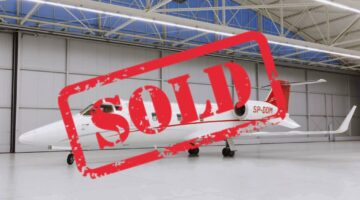 2008 Learjet 60XR Ext 1 SP-DOM Sold