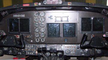1980 King Air 200C Ckpt 1 N521FT
