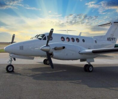 1980 King Air 200C Ext 1 N521FT site