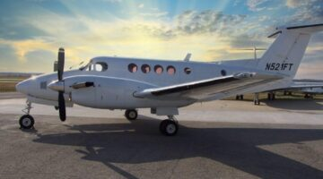 1980 King Air 200C Ext 3 N521FT site