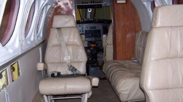 1980 King Air 200C Int 1 N521FT