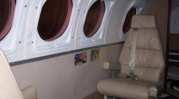 1980 King Air 200C Int 2 N521FT