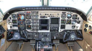 1980 King Air C90 Ckpt 1 N890NC site