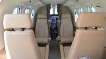 1980 King Air C90 Int 1 N890NC