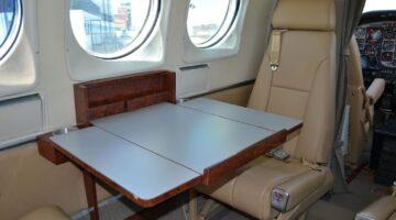 1980 King Air C90 Int 3 N890NC