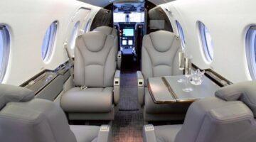 1997 Beechjet 400A Int 1 N100AW
