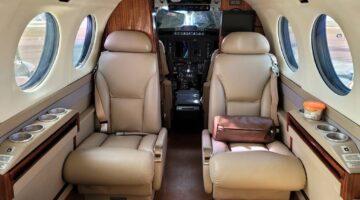 2006 King Air 350 Int 02 PR-DAH