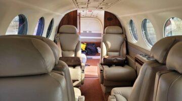 2006 King Air 350 Int 03 PR-DAH