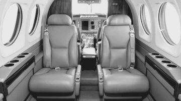 2010 King Air C90GTx Int 1 PR-CVB