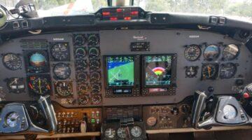 1981 KIng Air B200 Ckpt 1 N505AM