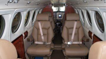 1981 KIng Air B200 Int 1 N505AM